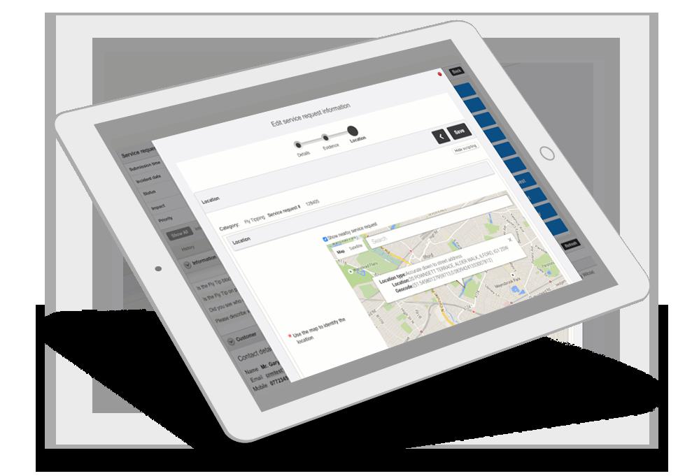Service Desk Software Screens